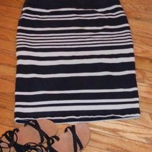 Old Navy striped skirt